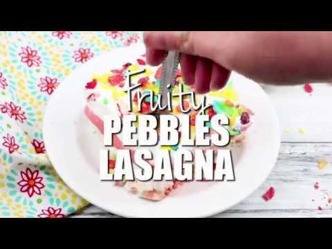 How to make: Fruity Pebbles Lasagna