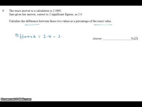 GCE NA Level 2009 P1 Q6