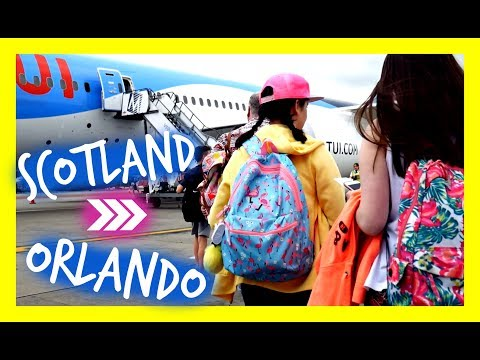 TRAVELLING TO ORLANDO FLORIDA! // TUI AIRLINES