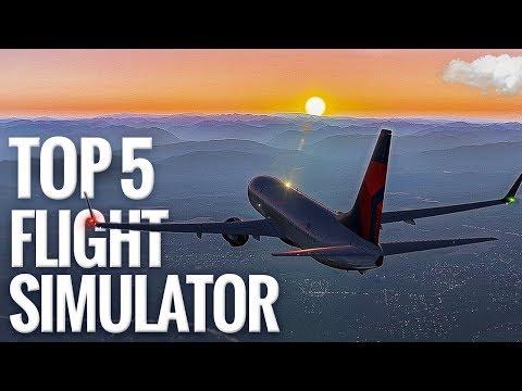 The 5 Most Realistic Flight Simulator Ever [Amazing Graphics]
