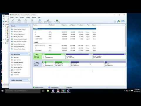 How To | Convert Primary Drive To Logical Partition  | Without Losing Data
