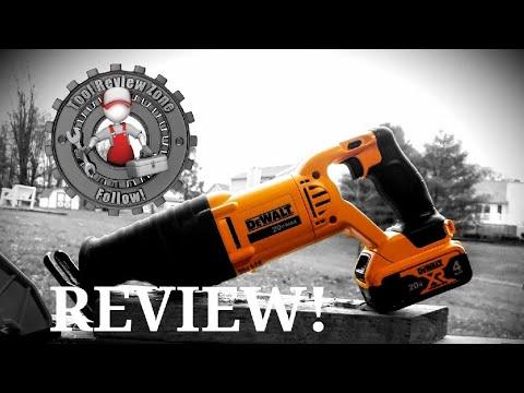 DEWALT 20-Volt MAX Cordless Reciprocating Saw REVIEW! DCS380B #dewalt #toolreviews #powertools