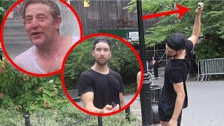 HE DESTROYED A FAN'S PROPERTY!!