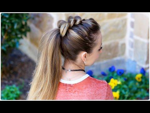 Pull-Thru Ponytail | Cute Girls Hairstyles