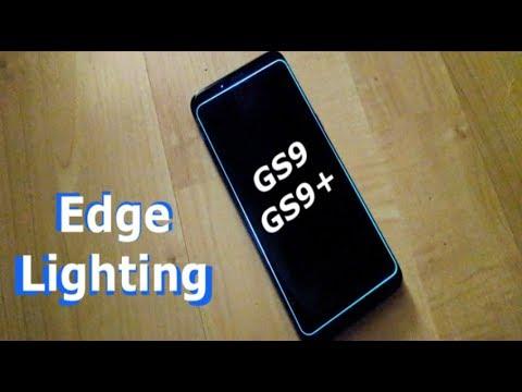 Galaxy S9/S9+ Edge Lighting Tutorial & Review