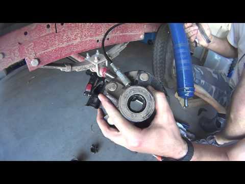 How do you check trailer bearings