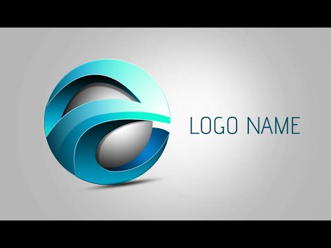 Photoshop Tutorial | 3D Logo Design (Element)
