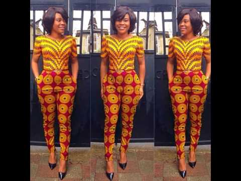 Ankara Jumpsuit Styles (2017 & 2018) - Latest Design For Top Ladies