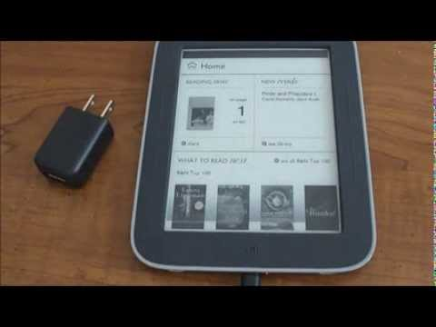 How to transfer books from PC to Nook