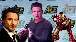 Avengers: Infinity War - Chris Evans Praises Iron Man & Makes Sarcastic Comments on Batman/Superman