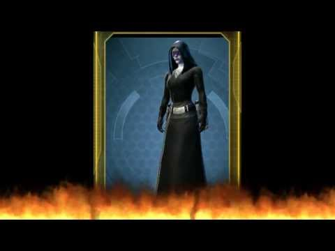 SWTOR - 56 Dyes - Demonstrating a few Dies in SWTOR