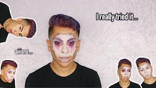 I Tried Doing A Halloween Look And Failed! | Louie's Life