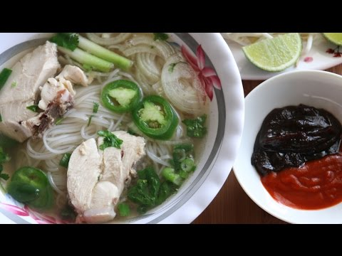 Pho Ga (Vietnamese Chicken Noodle Soup) Recipe