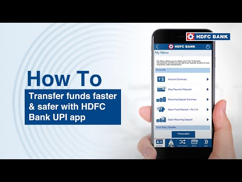 How to use HDFC Bank UPI app. HDFC Bank, India's no. 1 bank*