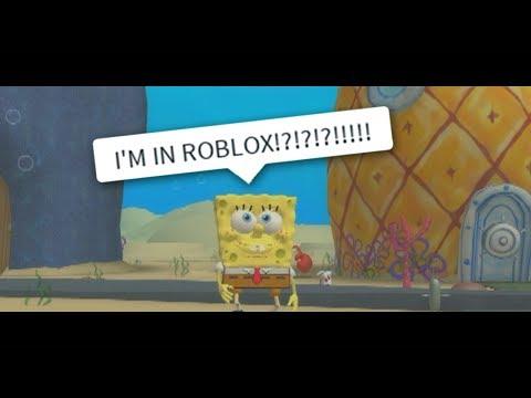 SPONGEBOB meets ROBLOX??!! (BATTLE FOR BIKINI BOTTOM REMAKE)