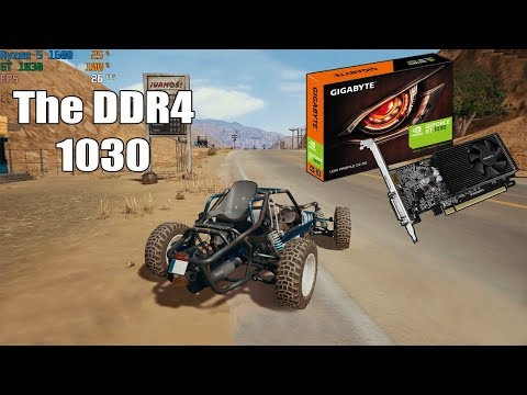 Gaming With The DDR4 GT 1030