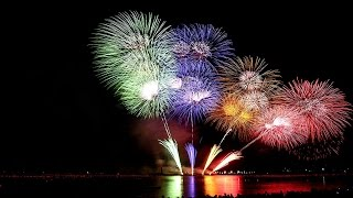 Amazing musical fire work show in new year 2017,suriya klcc  twin tower, Kualalumpur, Malaysia