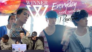 12 23 MB] Download WINNER - 'EVERYDAY' REACTION (FIRST