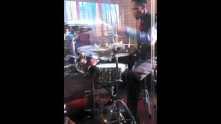 N.C. A&T Gospel Choir 2014 tour. Cam on drums