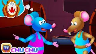 Hickory Dickory Dock Nursery Rhyme With Lyrics - Cartoon Animation Rhymes & Songs For Children