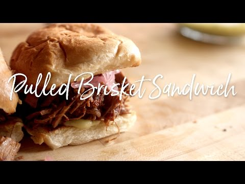Pulled Brisket Sandwich Recipe