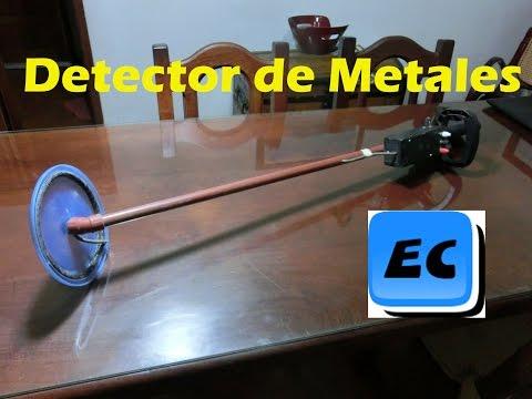 Detector de metales casero muy sensible DETECCION METALICA