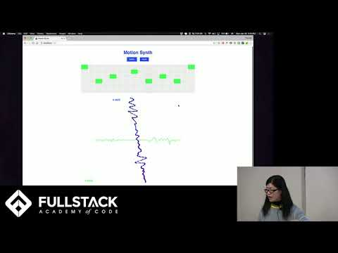 Stackathon Presentation: Motion Synth