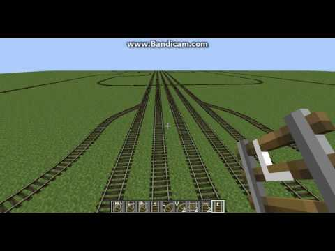 Minecraft trains