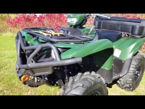 SWEET NEW BRUSH GUARDS for 2016 GRIZZLY 700 !