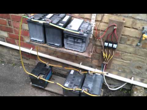 12 Volt Solar Power System, UPS SLAs and Anderson Connectors
