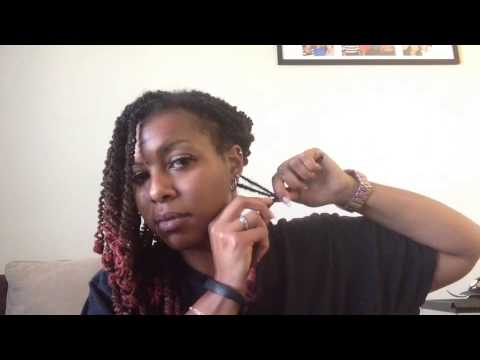 Loc Tutorial - Pipe Cleaner Curls by ShawnaLocsNBraids