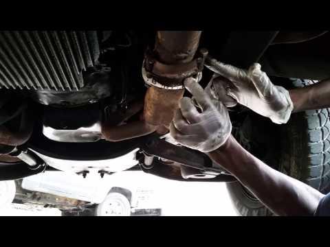 C Flange Bracket - Qic Install. Exhaust flange leak repair (see links below)