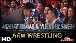 Akshay Kumar v/s Vijender Singh | WRESTLING | HT Most Stylish # AKSHAY KUMAR