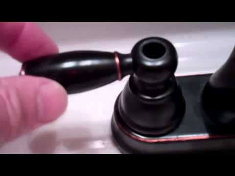 Faucet Repair for Loose Handle (1:31)