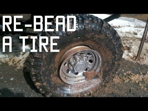 How to Re Bead a Tire | In the Field Vehicle Repair | Tactical Rifleman