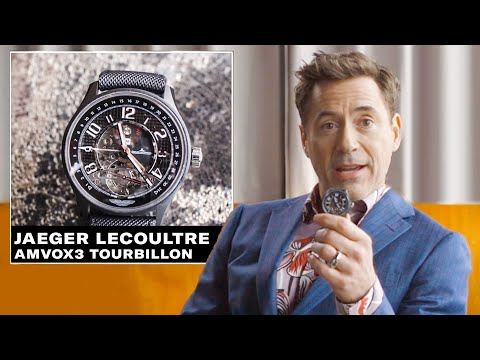 Xxx Mp4 Robert Downey Jr Shows Off His Epic Watch Collection GQ 3gp Sex