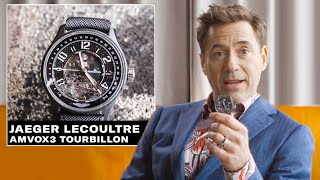 Robert Downey Jr Shows Off His Epic Watch Collection Gq