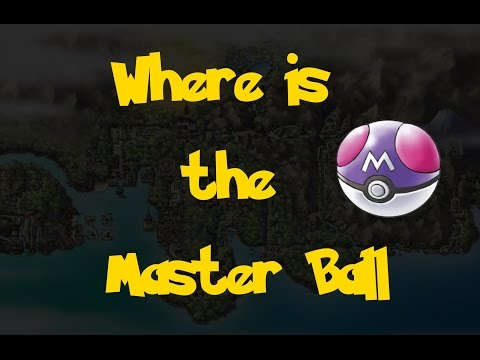 Where Is: The Master Ball (Pokemon Heart Gold/Soul Silver)
