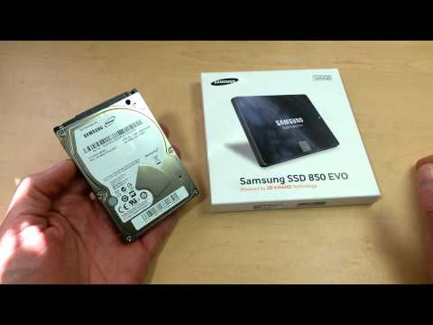 The Best Hard Drive Configuration for Your Laptop (1-SSD +1-HDD) Samsung 850 EVO + 2TB M9T Spinpoint
