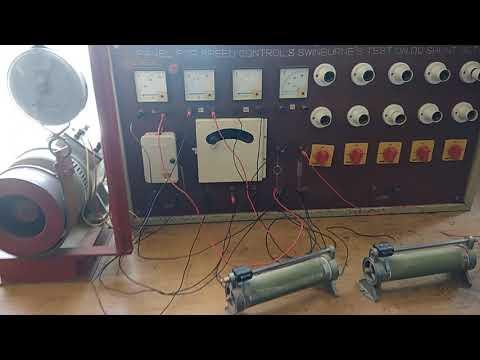 Speed control of D C shunt motor