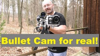 Fastest Action Cam On The Planet? (Vortex Bullet Cam for real)