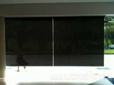 Remote Joint) Roller Blinds Video