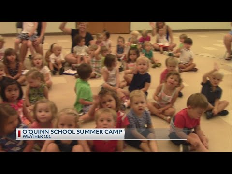 Rob Fowler visit the O'Quinn Schools of Porter Gaud for Weather 101
