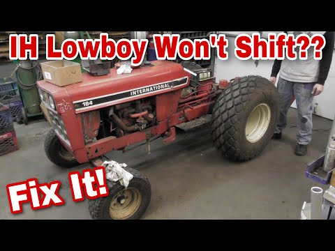 How To Fix A Broken Shift Lever On An International Harvester Lowboy - with Taryl - Left Alone