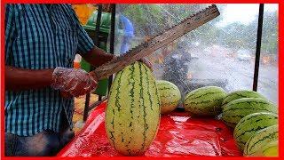 Download FRUIT NINJA of FRUITS   Amazing Fruits Cutting Skills   Indian Street Food In 2019 Video