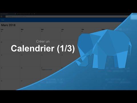 Tutoriel PHP : Créer un Calendrier 1/3, Création de l'interface