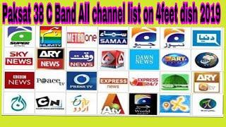 Paksat 38 All Channel List 2019 Videos - 9tube tv