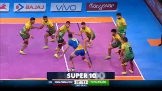 Tamil Thalaivas | Ajay Thakur super 10 vs Patna Pirates