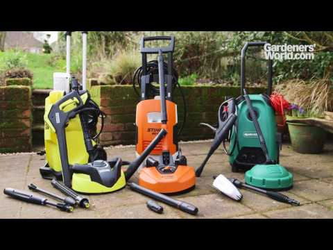 A buyer's guide to pressure washers