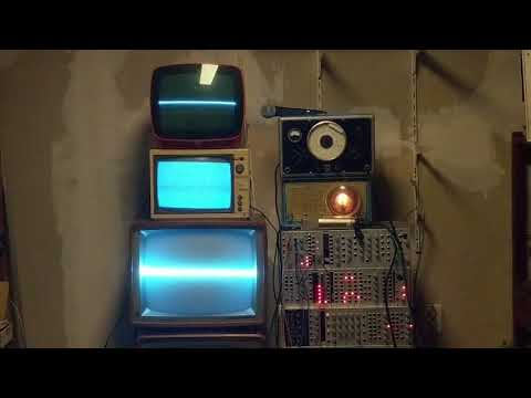 Experiment with televisions, radio and an oscillator